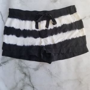 NWOT Equiptment Femme silk tie dyed shorts